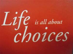 Transitional Friday: 10 Questions to Ask if Our Choices Matter