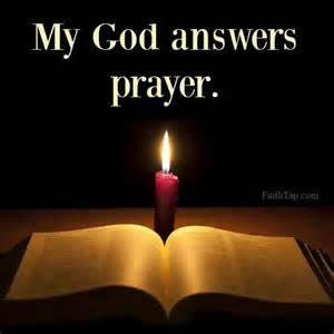 Transitional Friday: When God Answers Prayers