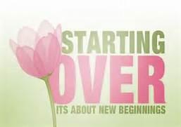 starting over 2