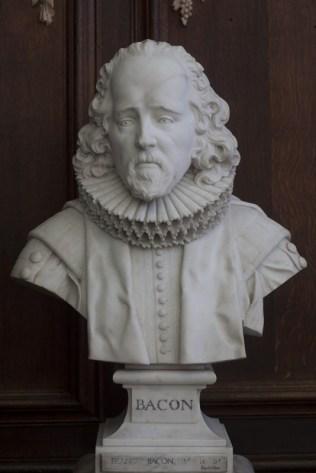 Sir Francis Bacon by Roubiliac