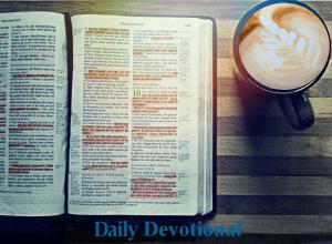 devotion bible image