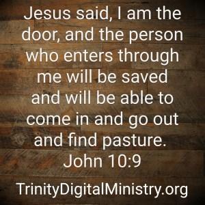 John 10:9 image
