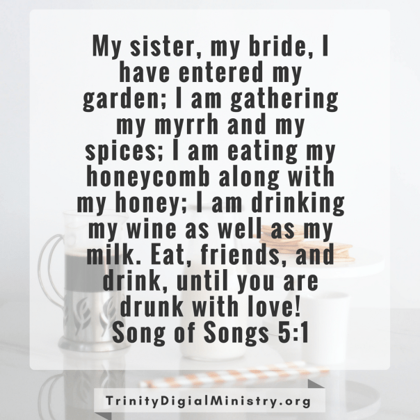 Song of Songs 5:1 image