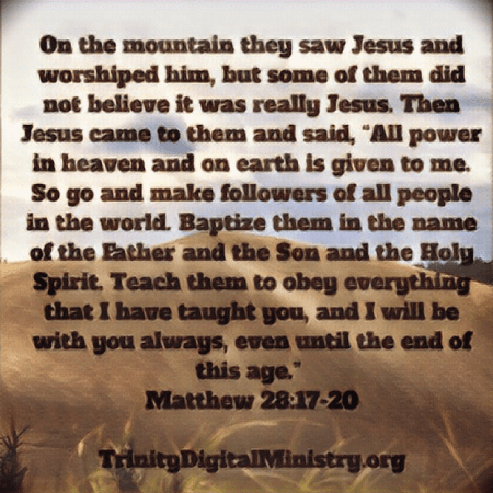 Matthew 28:27-29 image