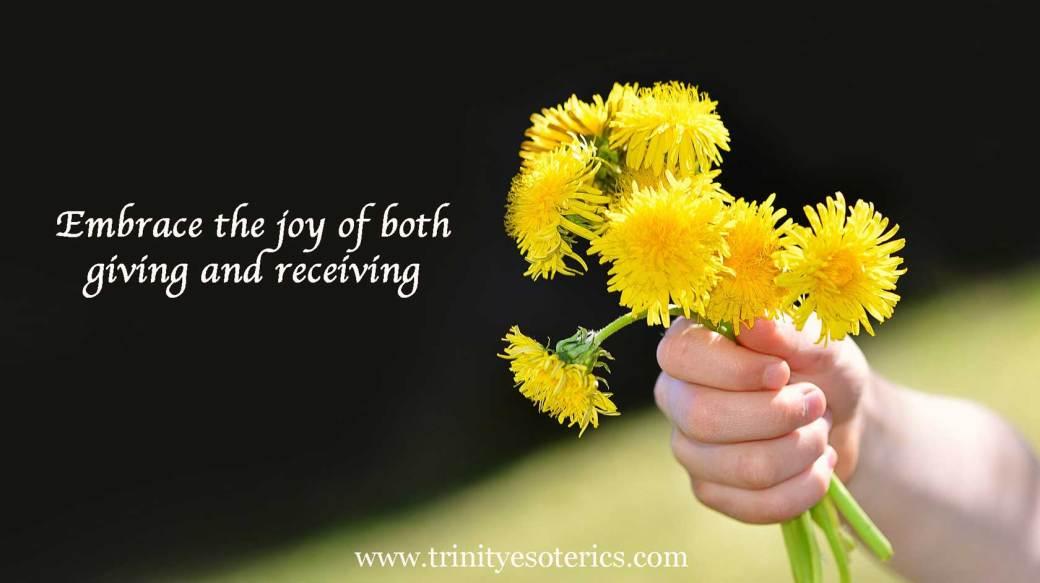 dandelion bouquet trinity esoterics