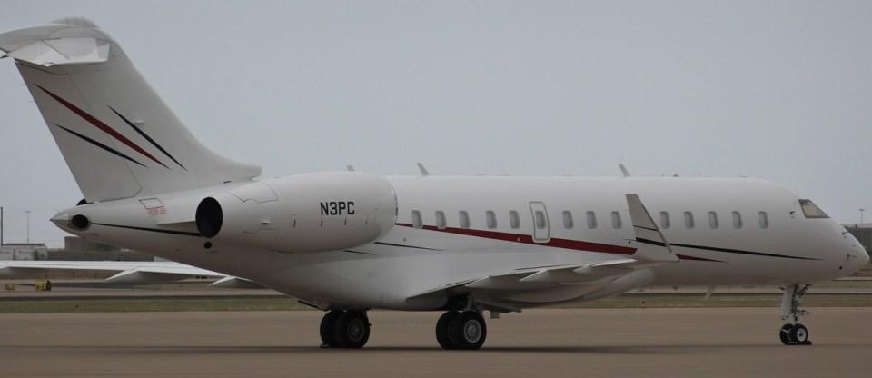 TBN's Bombardier Jet
