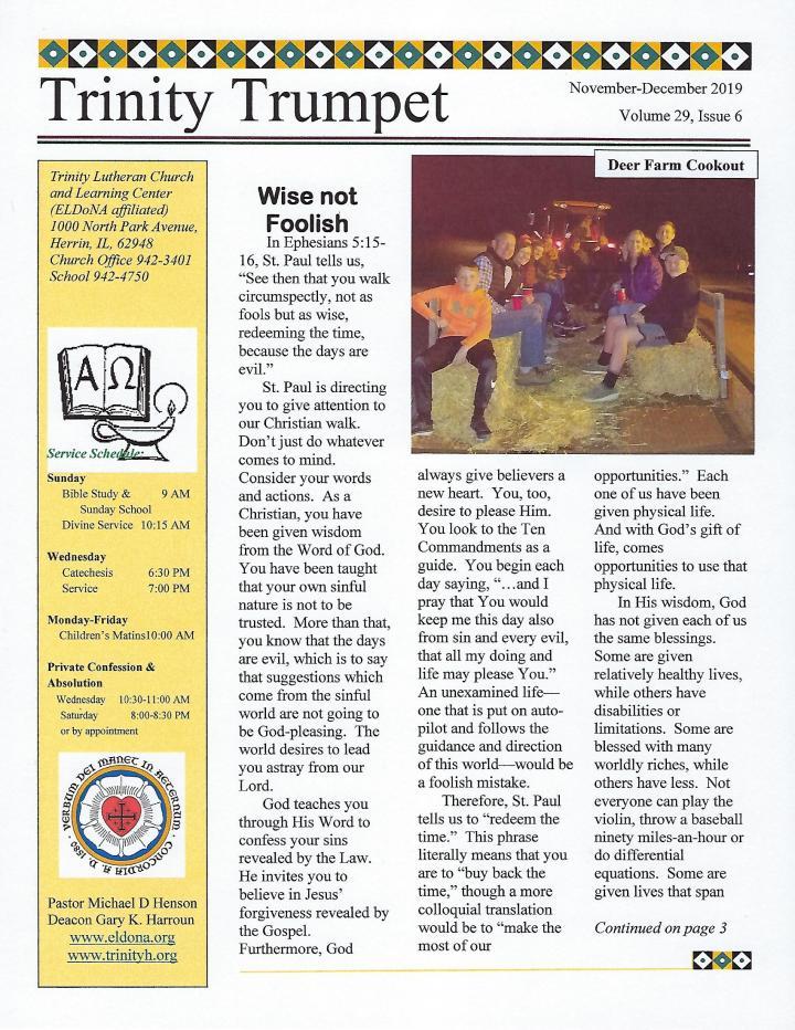 Front Page Nov Dec 2019