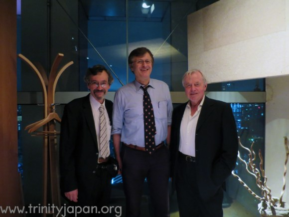Trinity in Japan Society Dinner on 19 June 2015 in Tokyo