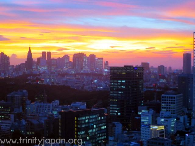 Trinity in Japan Society Dinner on 19 June 2015 in Tokyo
