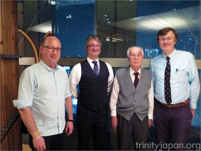 Trinity in Japan Society Fourth Meeting on  30 October 2015  in Tokyo