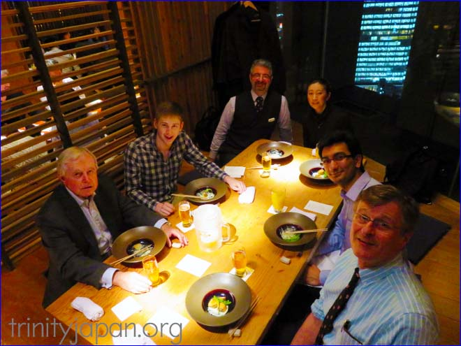 Trinity Japan Society meeting on Friday 25 March 2016 with Muhammad Asadullah Khan (Trinity), Debating Officer of the Cambridge Union Society