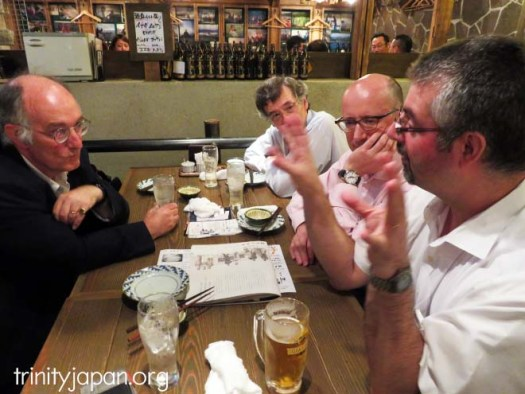 Trinity in Japan Dinner with Trinity Senior Research Fellow Professor Dominic Lieven on Thursday 25 August 2016