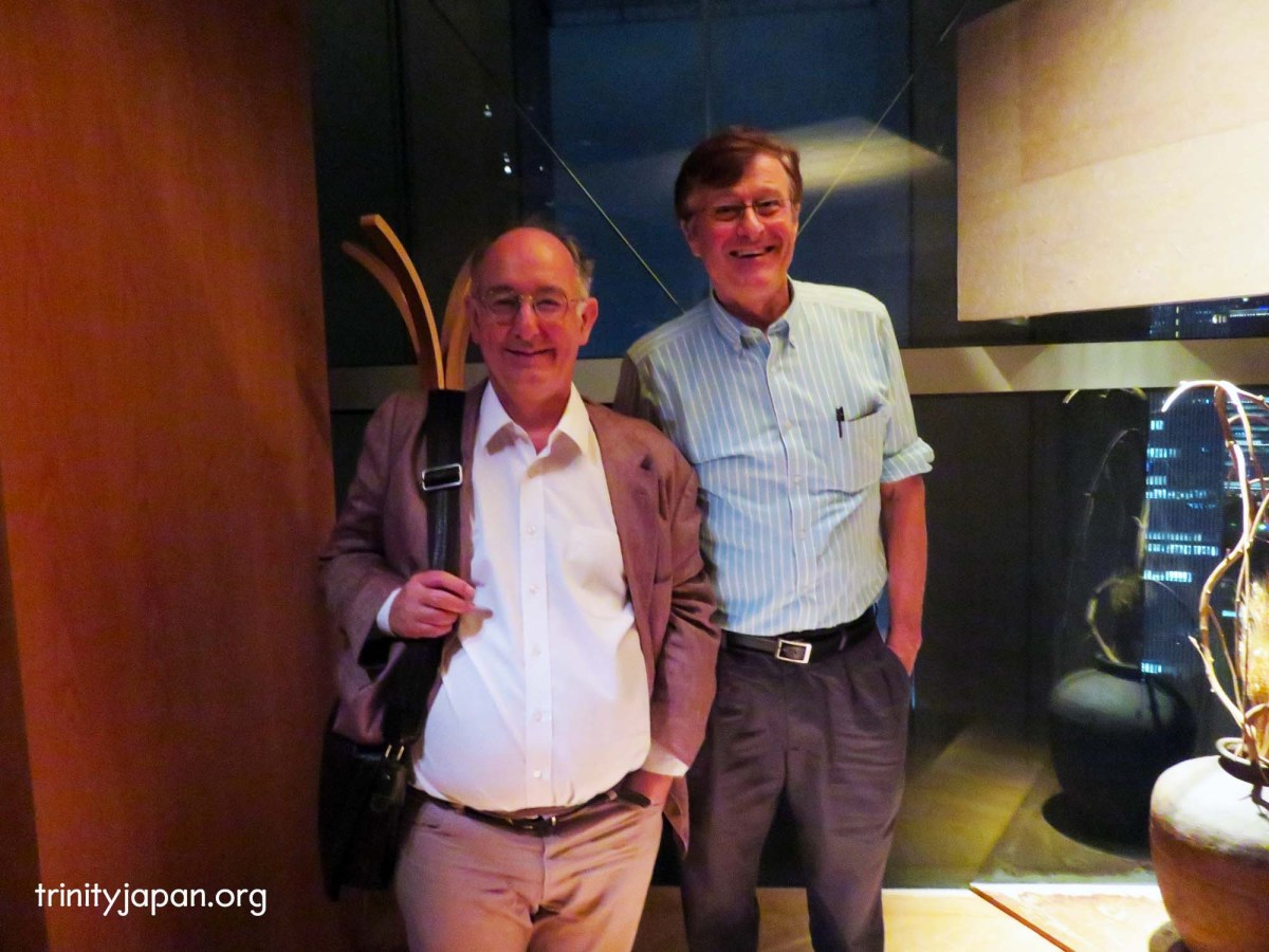 Trinity in Japan Society meeting on Friday 16 September 2016 with Professor Dominic Lieven