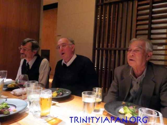 Trinity in Japan Bonenkai with Trinity Senior Research Fellow Professor Dominic Lieven on 8 December 2016