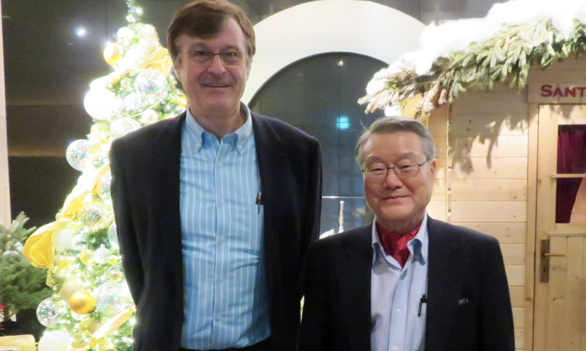 Trinity in Japan Meeting with Ambassador Ra (13 December 2016)