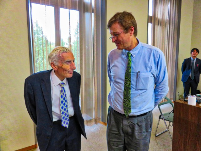 Lord Martin Rees, former Master of Trinity College, Lecture