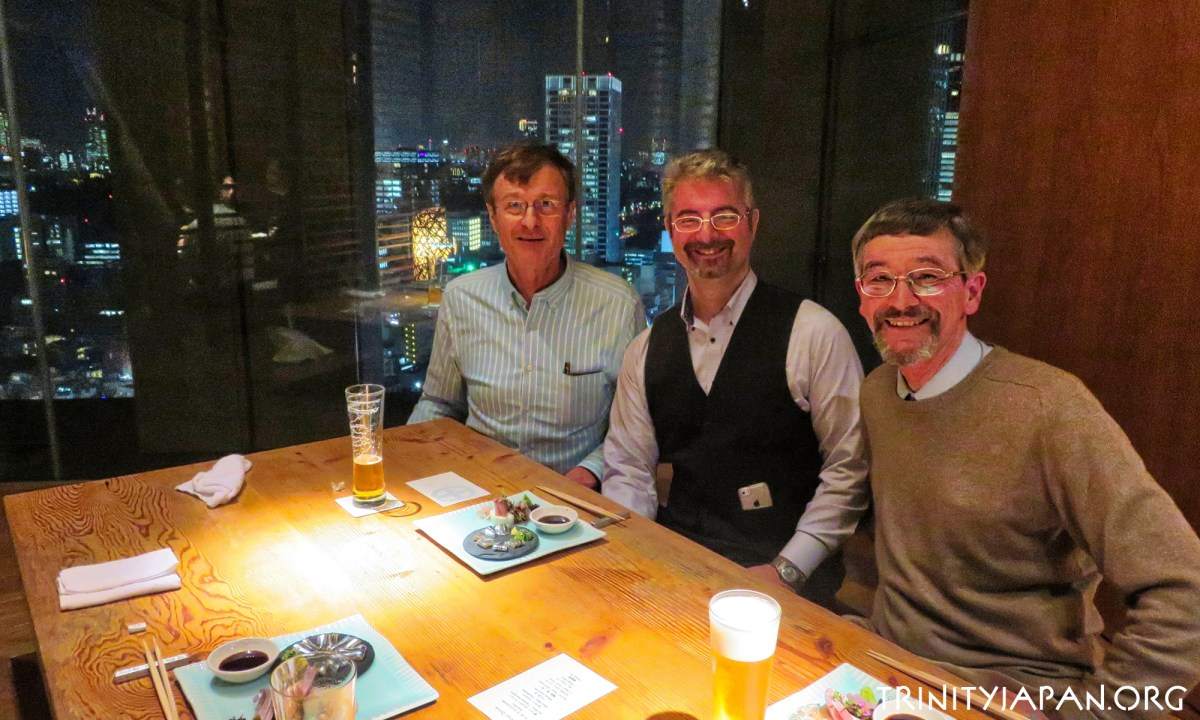 Trinity in Japan, New Year meeting, 9 February 2018