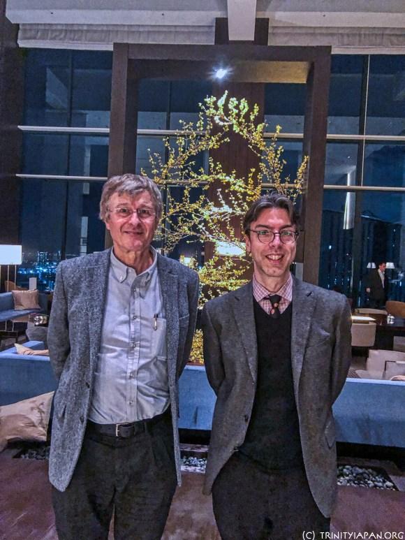 JC Swaan and Gerhard Fasol meet in Tokyo