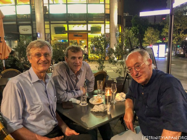 Trinity College Cambridge Japan 30 August 2019 meeting with Professor Dominic Lieven, Trinity Honorary Fellow and Emeritus Fellow