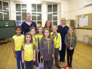 Brownies at Trinity Methodist