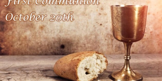 First Communion Instruction on October 8th