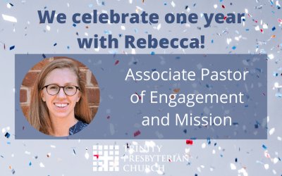 One year with Rebecca!