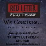 Red Letter Forgiving