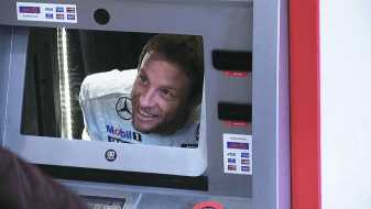 Santander With Jenson Button