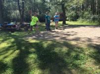 A camp tradition - mataka!