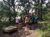 Obstacle course at Metigoshe