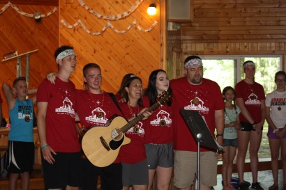 Our opening ceremony, welcome to camp!