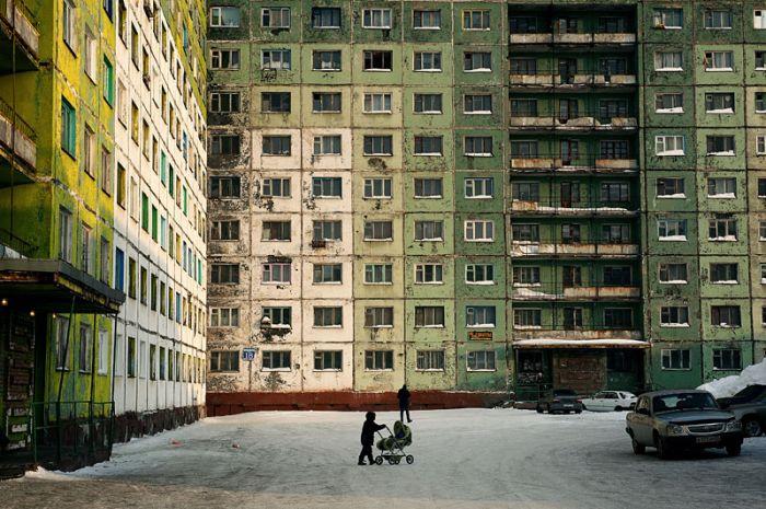 Résidents graves en semaine Norilsk (54 photos)