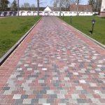Trinkelių grindinys Liškiavos bažnyčioje