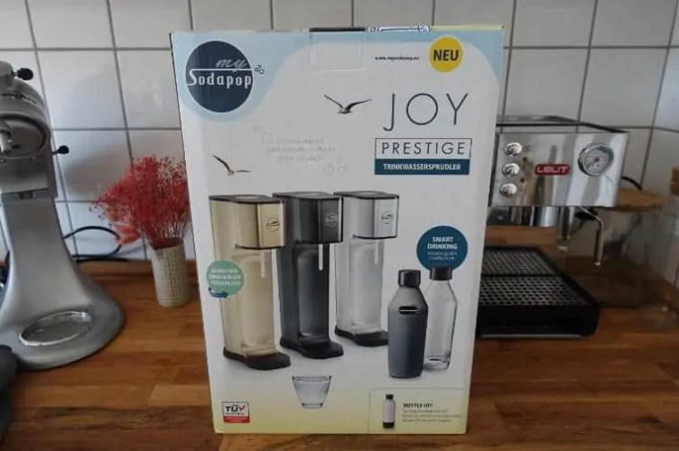 mySodapop Joy Prestige Verpackung