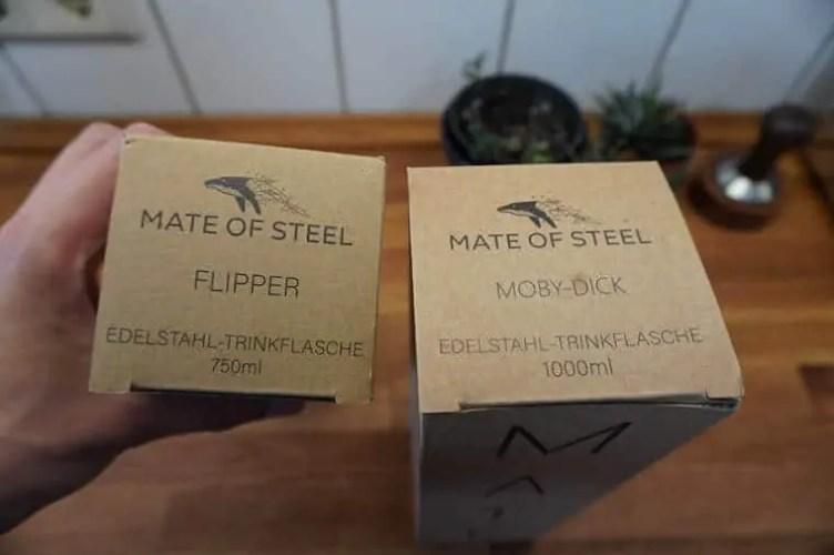 Mate of Steel Verpackung