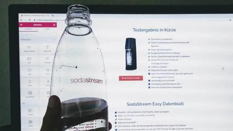 SodaStream Easy Artikel schreiben