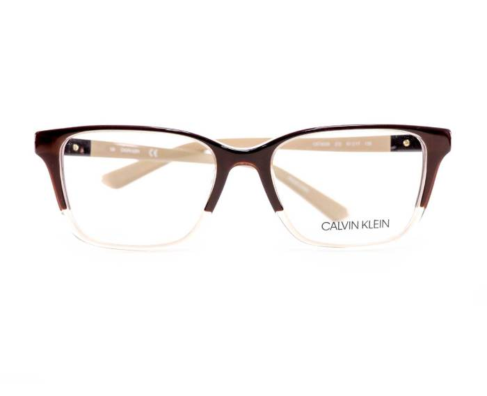 Calvin Klein CK19506 in Crystal/Brown