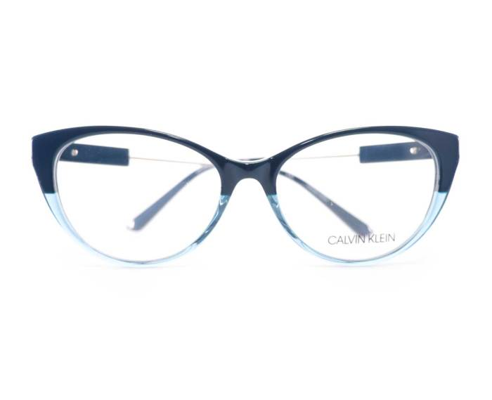 Calvin Klein CK19706 in Teal/Crystal