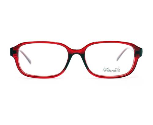 Diane Von Furstenberg DVF5118 in Red Crystal