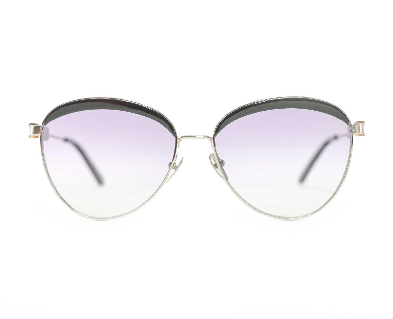 Calvin Klein CK19101S Sunglasses in Black/Silver