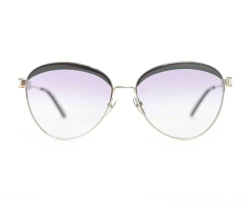 Calvin Klein CK19101S Sunglasses in Black/Silver