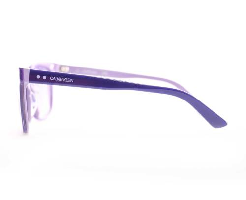Calvin Klein CK19503S Sunglasses in Indigo/Lavender