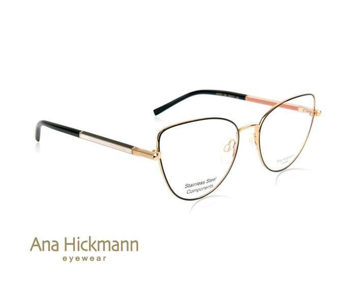 Ana Hickmann AH1372 in Gold/Matte Black