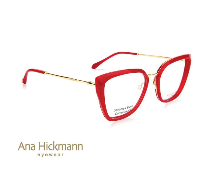 Ana Hickmann AH6378 in Water Red