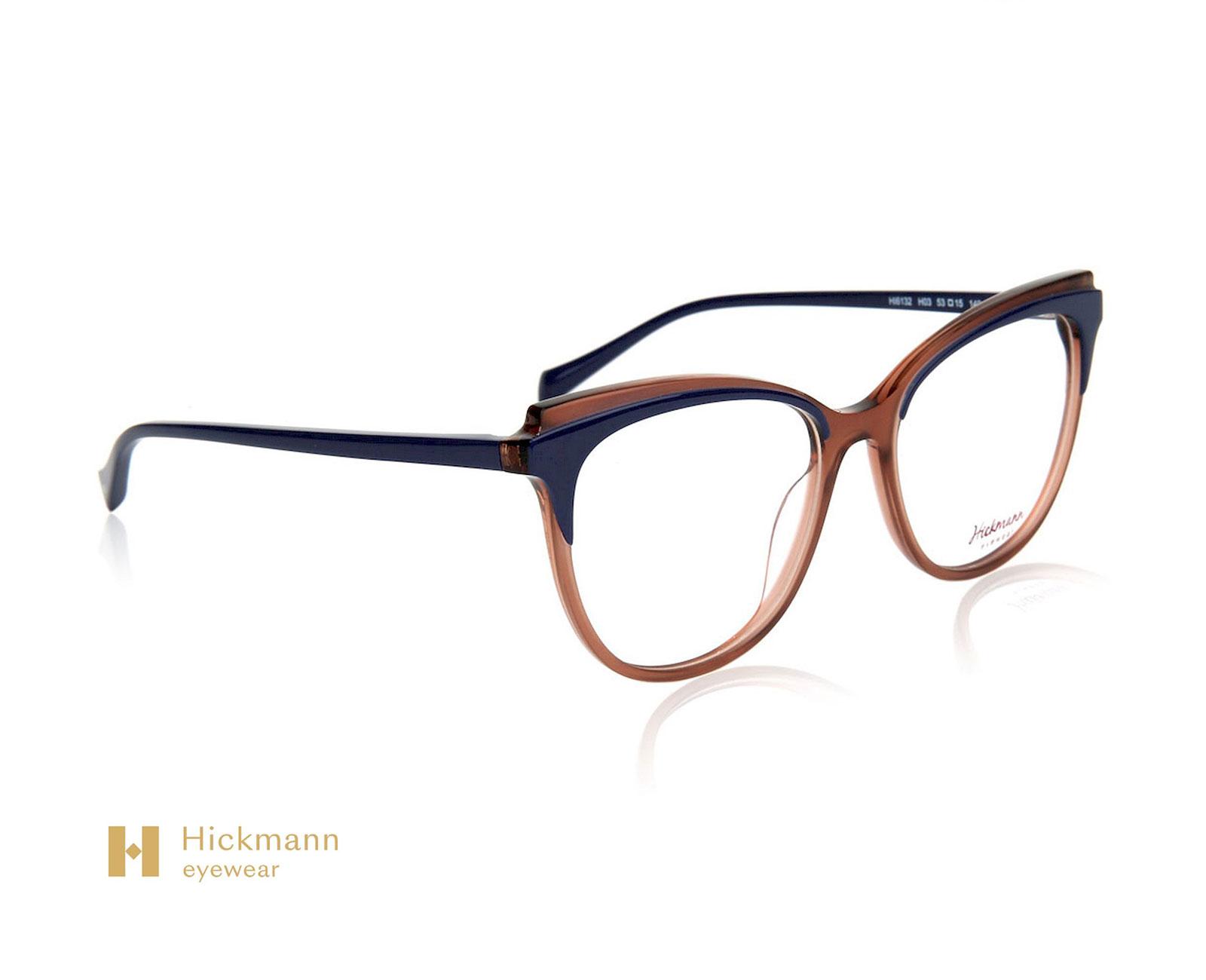 Hickmann Eyewear HI6132E in Blue/Transparent Brown