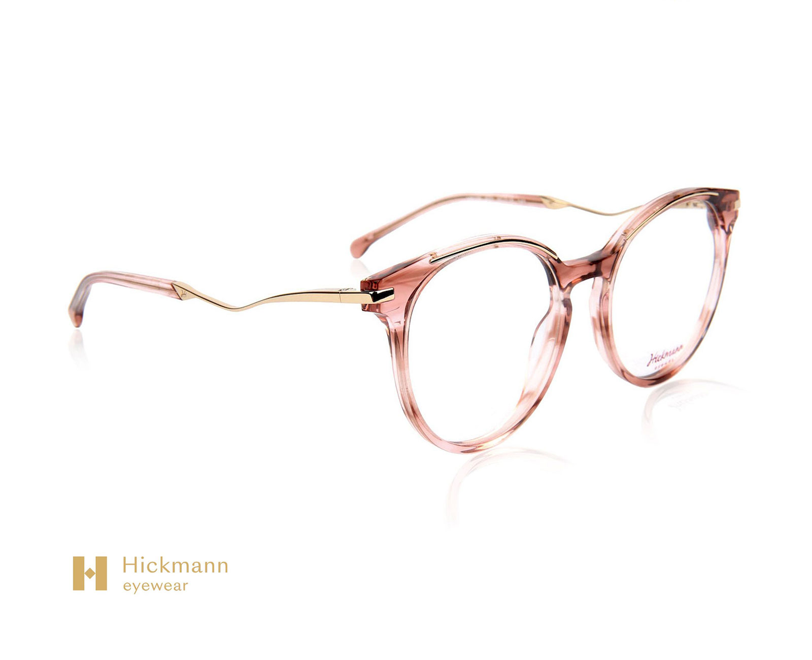 Hickmann Eyewear HI6139 in Pink Red Stripe