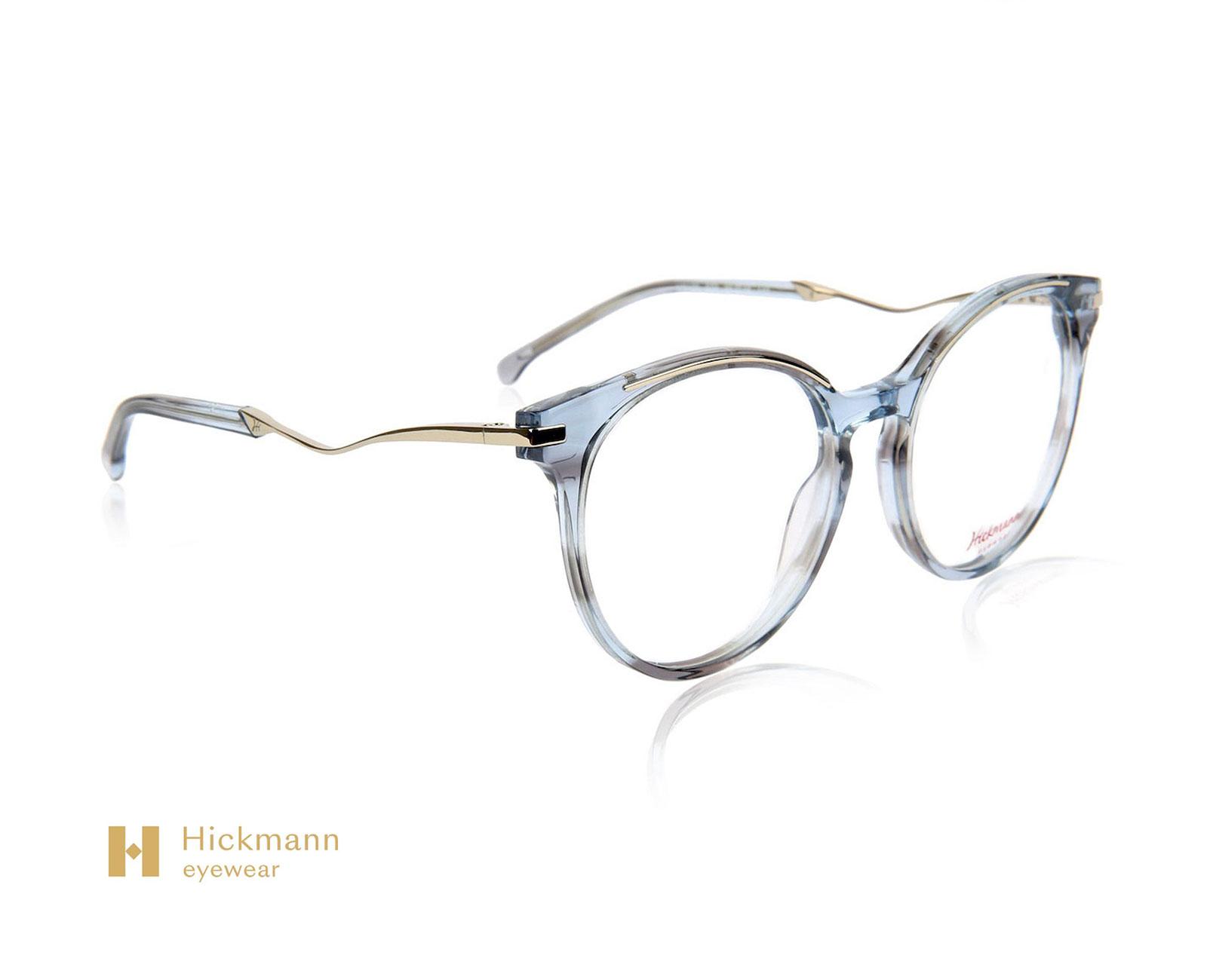 Hickmann Eyewear HI6139 in Grey Blue Stripe