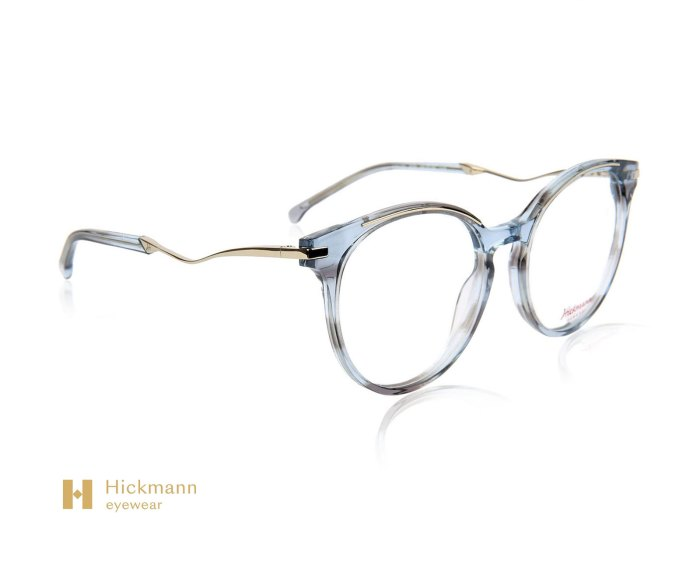 Hickmann Eyewear HI6139 in Grey Blue Stripe