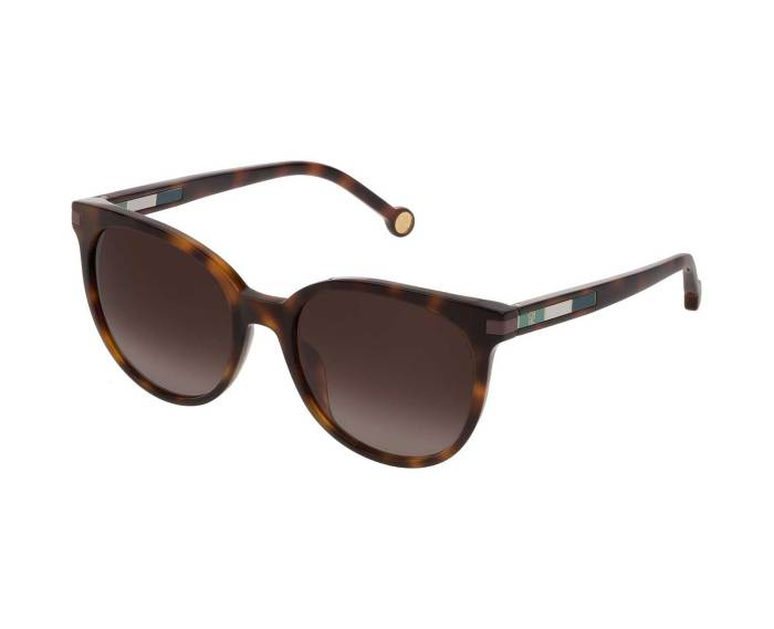Carolina Herrera SHE830 in Brown Gradient Havana