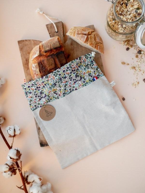 Sac à pain - Automne - Trinquette Artisanat - Coton Liberty